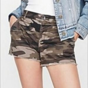 Express Camo Shorts
